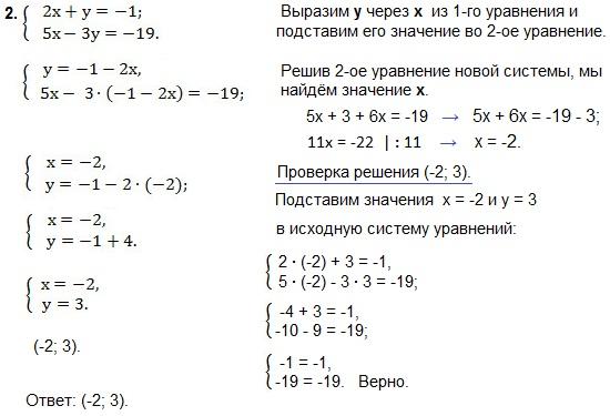 уравнения в комплексном виде